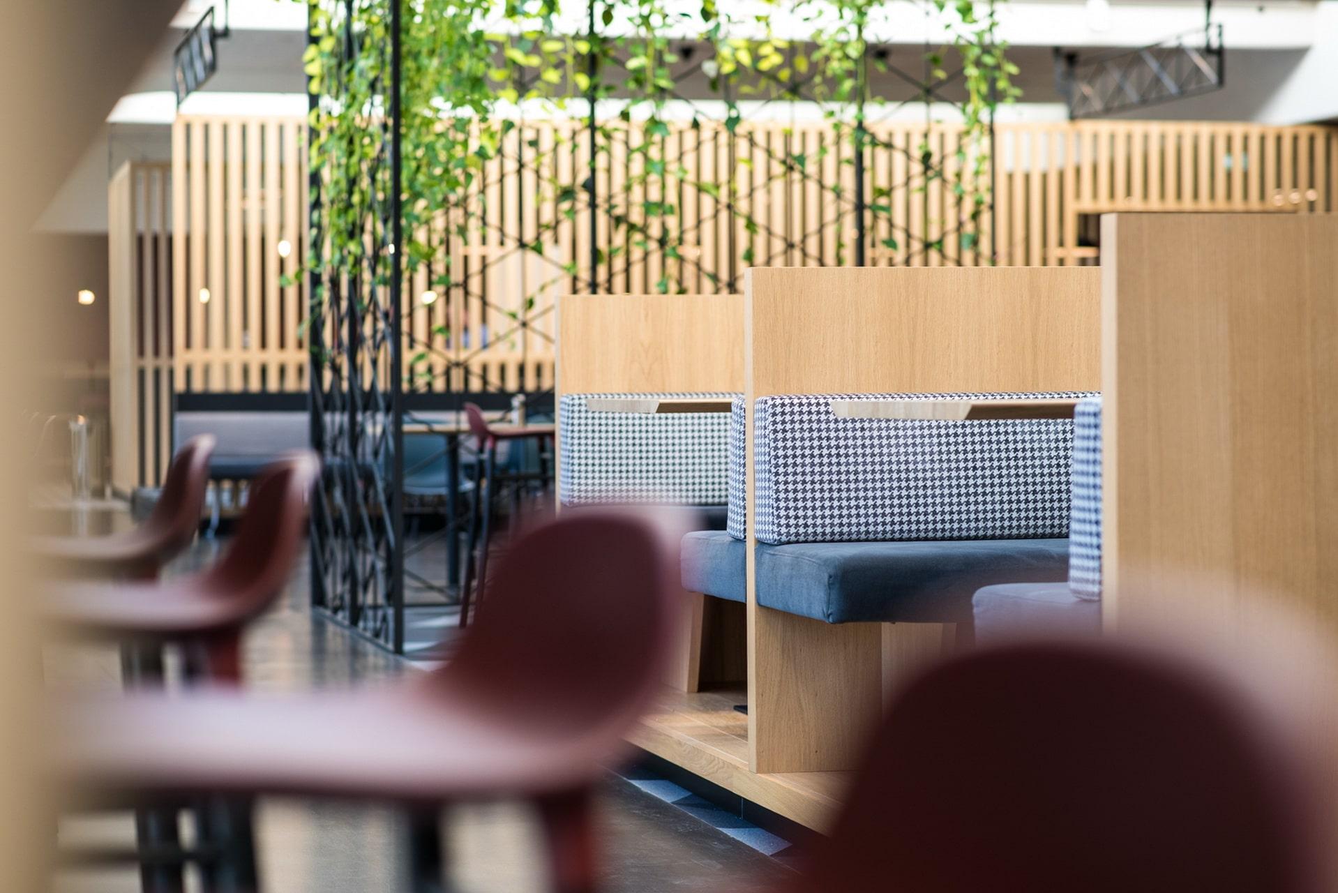 Einrichtungsgestaltung im BMW Campus München